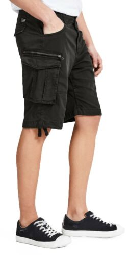 JACK /& JONES uomo Cargo Combat Pantaloncini Estate Cotone Mezza Pantaloni Casual Tasca a breve