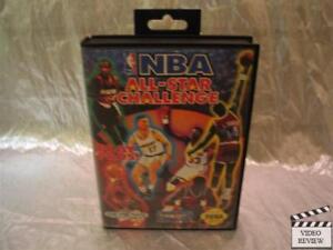 NBA All-Star Challenge (Sega Genesis, 1992) No Instructions