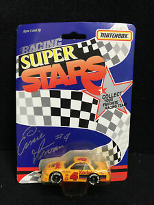 1992 Matchbox Superstars Ernie Irvan #4 Kodak Racing 1//64 scale car