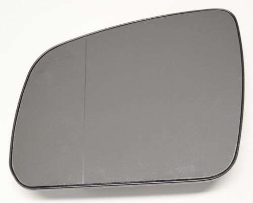 MERCEDES W204 S204 LEFT MIRROR WING GLASS ASPHERICAL CHROME HEATED ds  ;;;