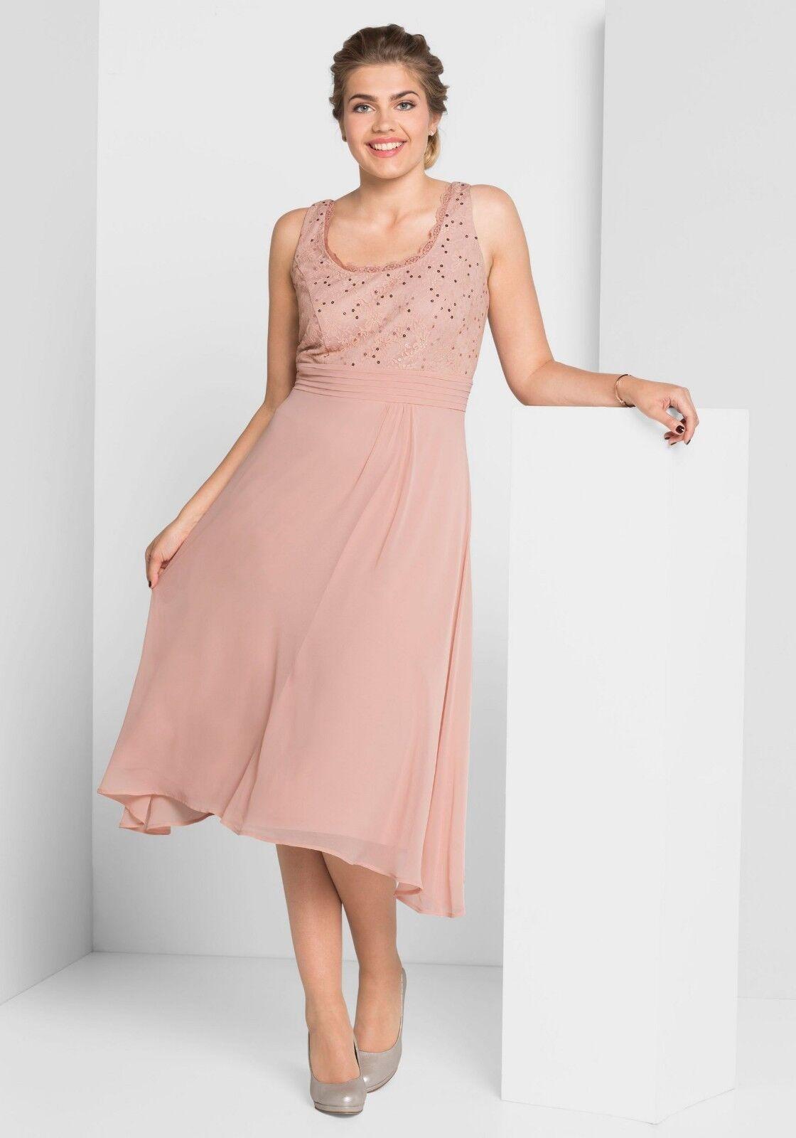 Designer Spitzen Kleid  Sheego  Größe 48  NEU