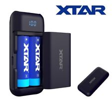 XTAR Pb2 18650 Portable Charger With Powerbank Feature 2.1a USB Output