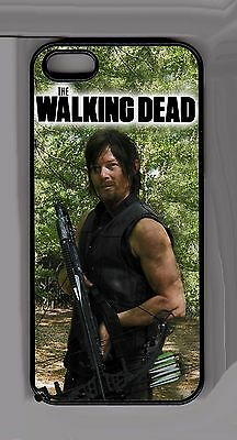 Daryl Dixon Norman Reedus Walking Dead iPhone 5 5s Cell cover - Case Black