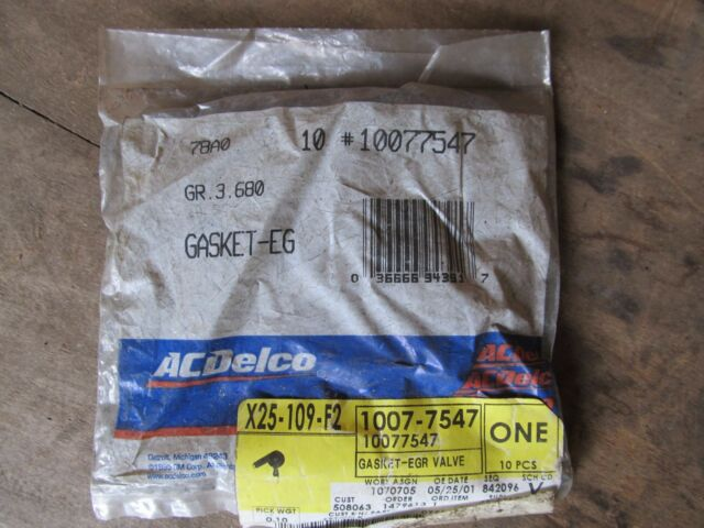 ACDelco 10077547 GM Original Equipment EGR Valve Gasket