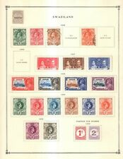 Swaziland Collection from Excellent Scott Intern Album 1840 1940