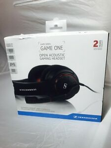 Details about Sennheiser GAME ONE Open Acousti Gaming Headset with  Microphone Brand New Black