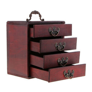 4-Layers-Trinket-Jewelry-Storage-Box-Wood-Chest-Treasure-Organizer-Ring-Case