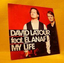 Cardsleeve single CD David Latour feat. El Anaf My Life 2TR 2009 House