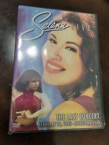 SELENA LIVE THE LAST CONCERT DVD BRAND NEW QUINTANILLA ...