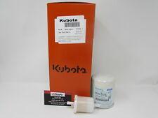 Genuine Kubota Engine Oil Fuel Amp Air Filter Kit Rtv1000 Rtv 1100