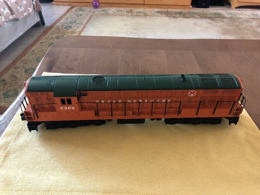GREAT CONDITION Tested Williams O Scale Greath Northern Dual Motor Engine 2362