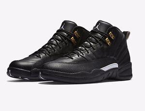 12 Le Maître D'or Rétro Noir Nike Air Jordan