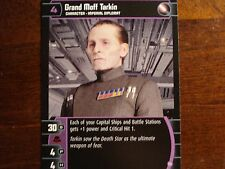 Star Wars TCG ROTS Grand Moff Tarkin (D)