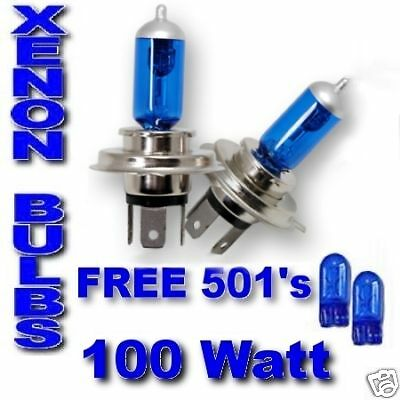 Peugeot Boxer Partner Expert ULTRA XENON bulbs H4 100w