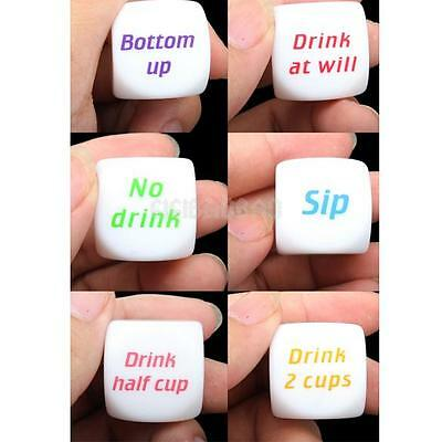 Funny Bar Party Drink Decider Dice Games Pub Fun Die Toy Gift