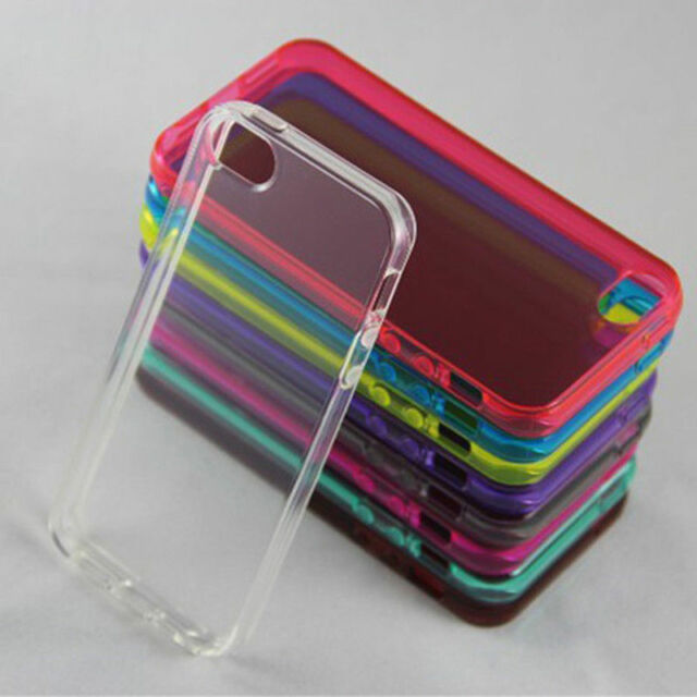 NEW SOFT SILICONE RUBBER CASE SKIN COVER FOR IPHONE 5 5S SE BACK COVER