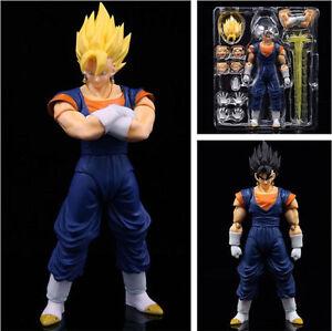 6.7'' Dragon Ball Z Super Saiyan Son Goku Gokou Vegeta Gogeta Figure Figurine