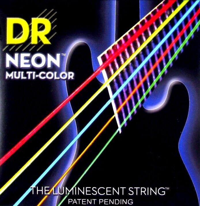 DR Strings K3 Neon Hi-Def Multi-Farbe - Bass - - - 045-125 716341