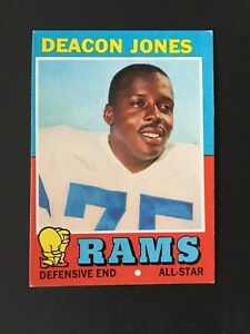 1971-Topps-Set-Break-209-Deacon-Jones-HOF-Los-Angeles-Rams-EX-EXMINT-Condition
