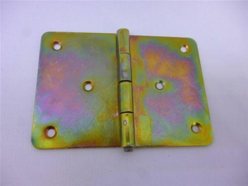 10 Charnières carré table bandes G Galvanisé 100 mm x 70 mm x 1,5 mm
