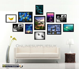 Image Is Loading 11 Piece Multi Picture Frame Photo Collage