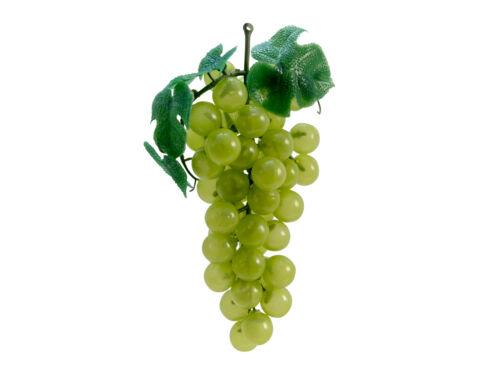 Trauben mit Blättern grün