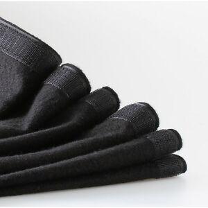 b1 b hnenvorhang podestvorhang molton stoff schwarz 10mx80cm b hnenmolton klett ebay. Black Bedroom Furniture Sets. Home Design Ideas