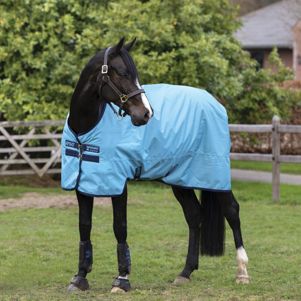 Horseware Amigo Hero Ripstop 50g - Delphinium - Regendecke