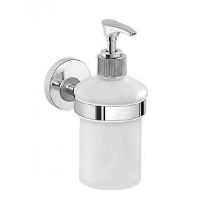 Dispenser dosa sapone portasapone liquido fissaggio a muro parete erogatore