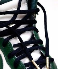 "54/"" Premium BLACK Flat shoe Lace with Silver TIP Jordan LBJ KD NMD YEEZY BOOST"