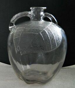 Vintage-Jug-Pitcher-White-House-Apple-Cider-Vinegar-Glass-Bottle-Gallon-10-034