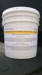 Foaming Root Killer 25 Lbs Easy To Use No Mixing Patriot Chemical