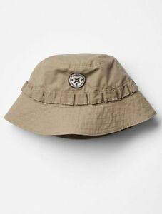 Details about GAP Baby Boys Size 0-6 Months Tan   Khaki Safari   Hiking Sun  Beach Bucket Hat a5fd7dfd1e2