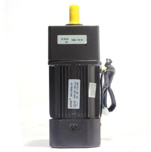120W Adjustable Speed Motor AC Gear Motor Reversible Motor with Controller 220v