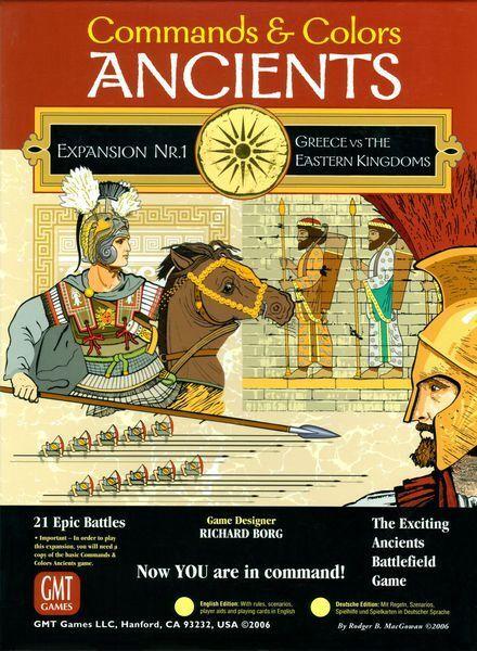 Comhommeds  & Couleurs ANCIENTS EXPANSION N°1 - GMT Games, English Language  bienvenue pour acheter