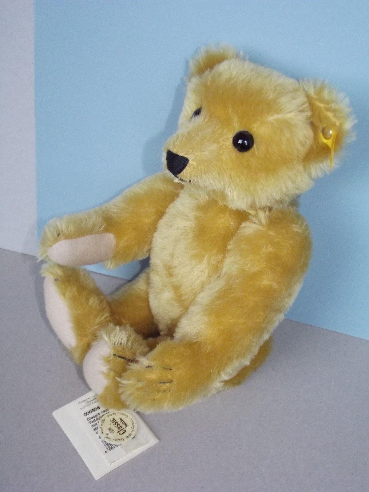 Steiff Teddy Nr 000508  Classic Teddybär 1909 Brummtimme Brummtimme Brummtimme 35 cm 1998-03 neuw. 029159