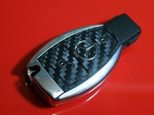 Mercedes-SL-W164-ML-500-R230-C-SLK-AMG-Brabus-key-decor-carbon-optic-sticker