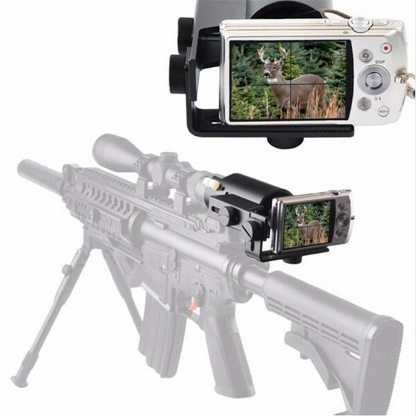 Hunting Scope Camera Mount Adapter Phone Camera Picatinny Mount Adapter
