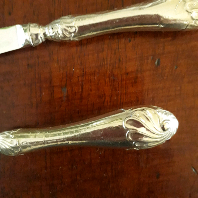 Vintage Silver Butter/Pate knives