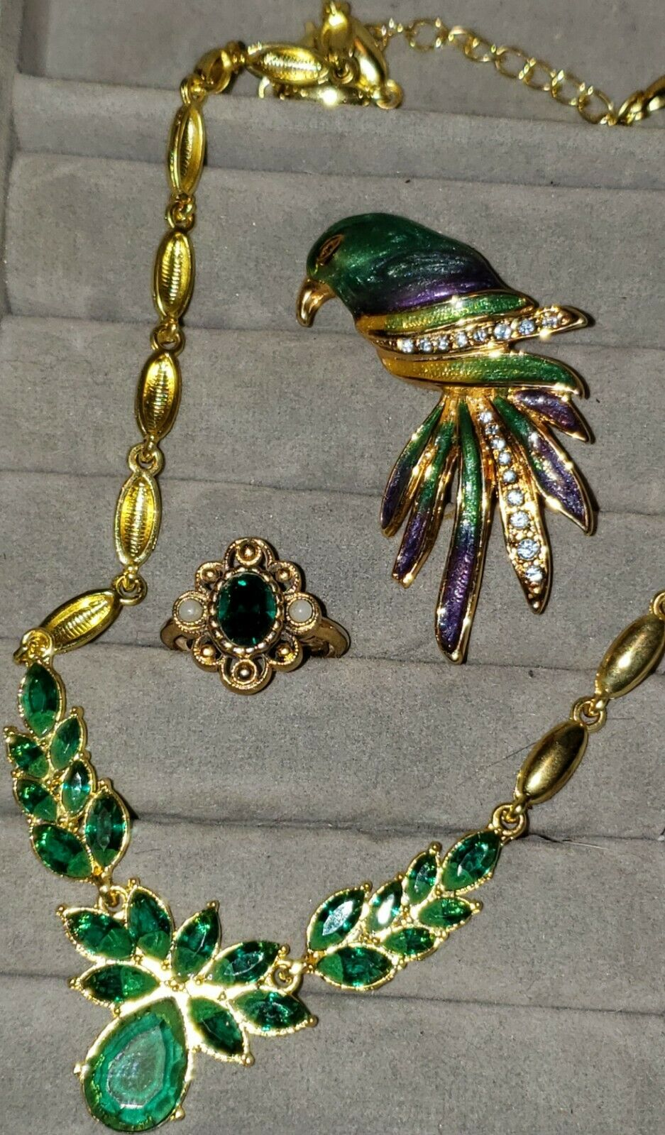 Vintage  Costume Jewelry Lot With Arnold Scaasi C… - image 4