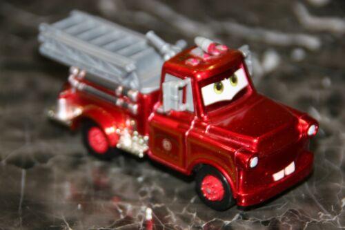 "DISNEY PIXAR CARS 1 /""RED RANSBURG FIRETRUCK MATER/"" LOOSE BRAND NEW"