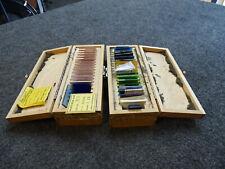 34 Hoya Pyrex Edmund Optics Filter Kit 2in Square Filters Misc Gbh La A20 Color