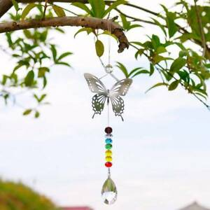 Window-Rainbow-Handmade-Butterfly-Hanging-Suncatcher-Crystal-Prism-Ball