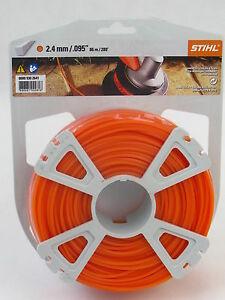 stihl m hfaden quadratisch orange 2 4 mm x 86 m 0000. Black Bedroom Furniture Sets. Home Design Ideas