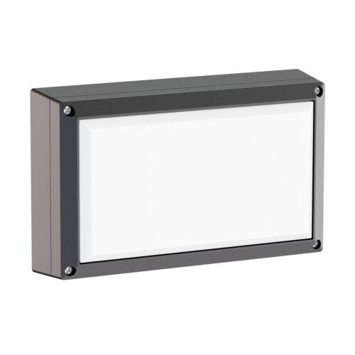 inkl 2x GX53 6,3W amp Applique Tabit angulaire aluminium pour l/'extérieur noir
