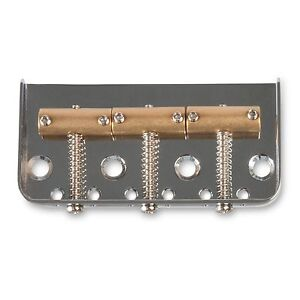 Golden Age Short Bridge for Tele, Chrome
