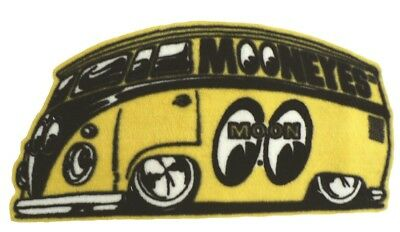 "18/"" X 24/"" Mooneyes Moon Equipped Transporter Bus Home Carpet Floor Mat MG458TR"