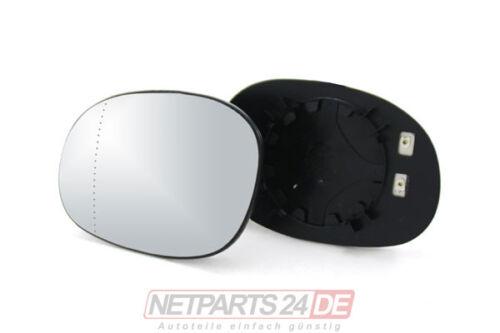 Spiegelglas Spiegel-Glas links Fahrerseite beheizbar Peugeot 206 ab 09//98 Neu