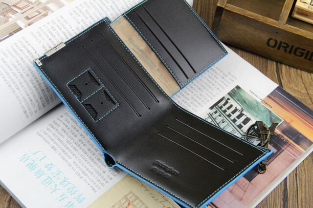 Men's Bifold Leather ID Credit Card Holder Clutch Billfold Purse Pockets Wallet