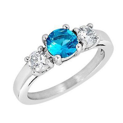 August Birthstone RingStainless Steel Celtic August Birthstone Ring